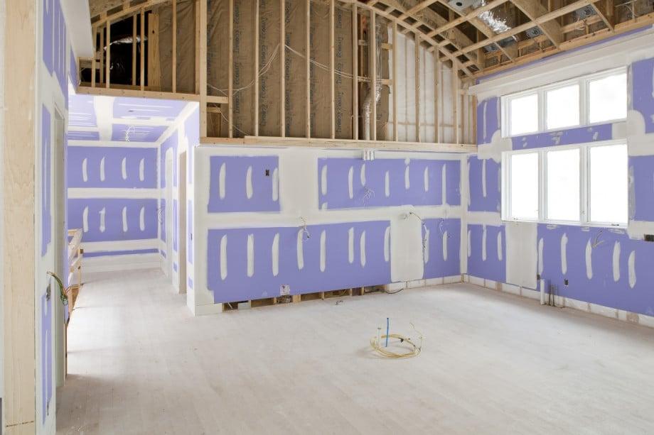 Kitchen Drywall