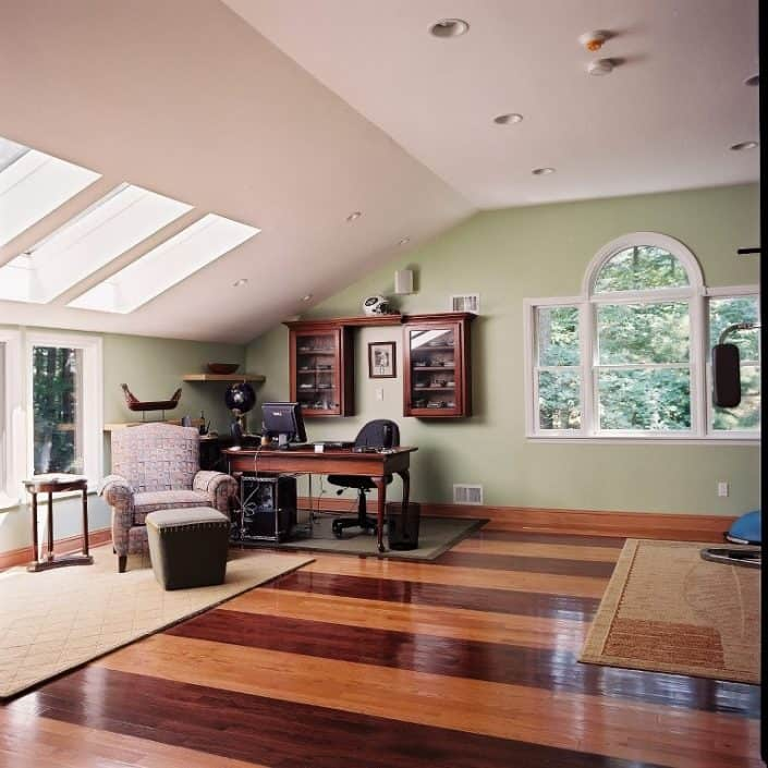 Home addition contractors in Toronto attic