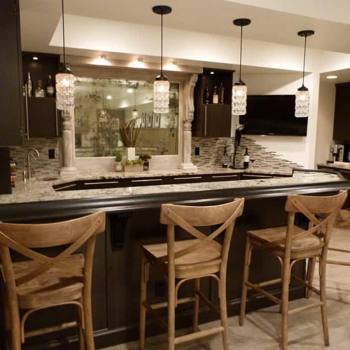 Toronto Basement Finishing kitchen